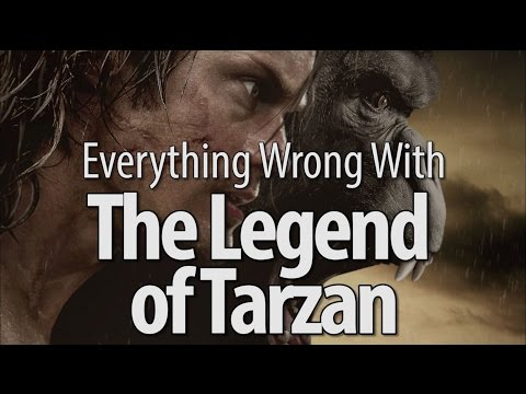 Everything Wrong With The Legend of Tarzan