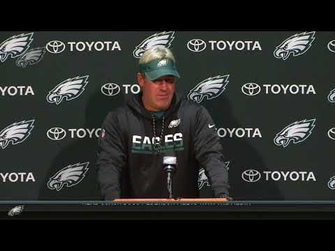 Eagles Press Pass: Head Coach Doug Pederson (12/13/17)