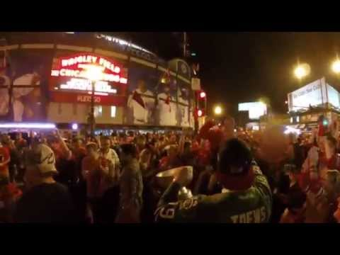2015 Chicago Blackhawks Stanley Cup Win Aftermath; Wriglyvill