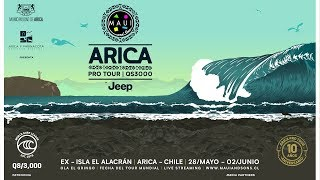 Maui and Sons Arica Pro Tour 2019 - Day 01