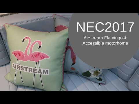 NEC2017 -Accessible motorhome, Knaus StarClass, Airstream Flamingo