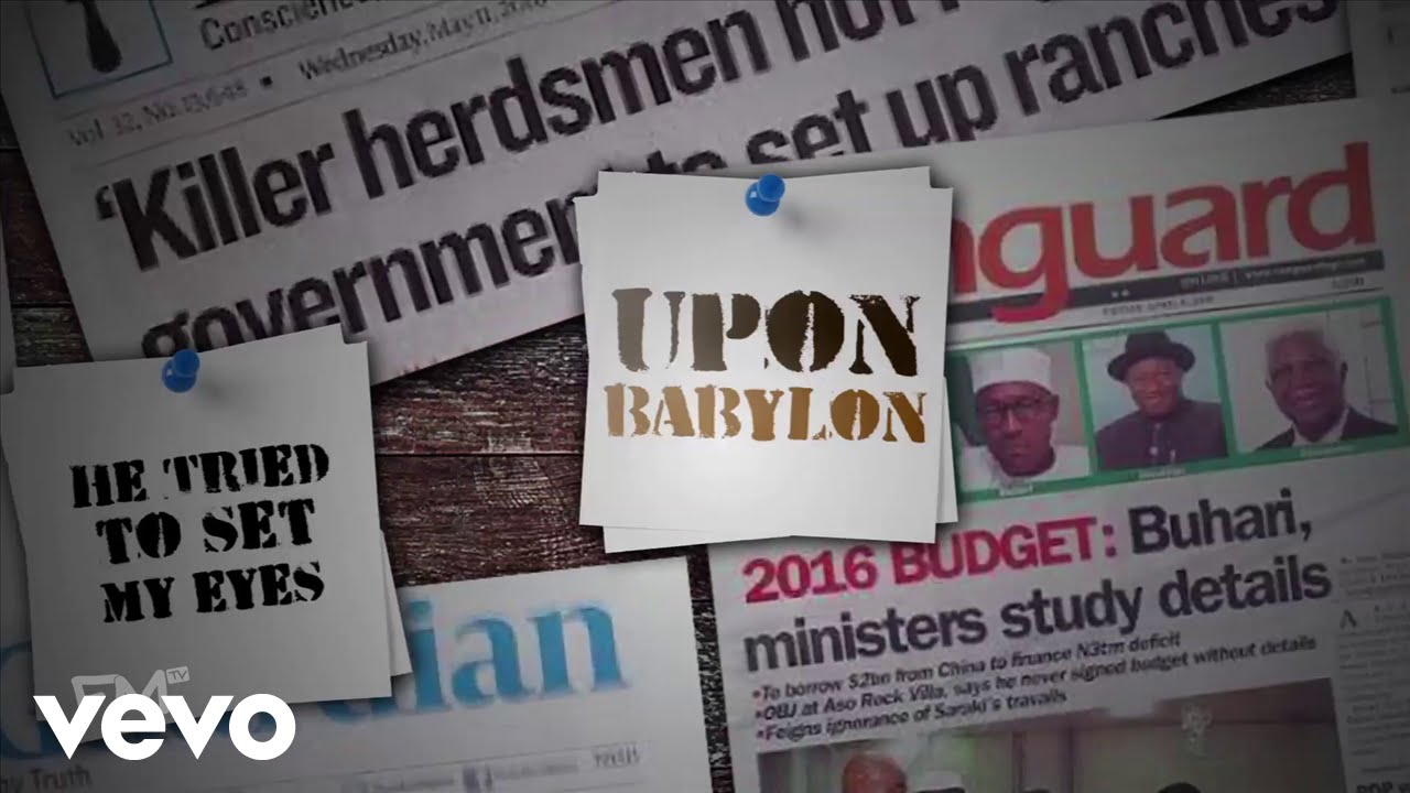 Download 2Baba, M.I Abaga - Babylon [Lyric Video]