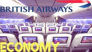 British Airways ECONOMY CLASS London to Tel Aviv