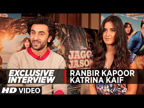 Exclusive Interview With Ranbir Kapoor & Katrina Kaif || Jagga Jasoos