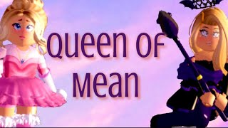 || Queen of Mean || Roblox Royale High Music Video || TheGacha Kitten