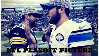 NFL Talk: NFL PLAYOFF PICTURE