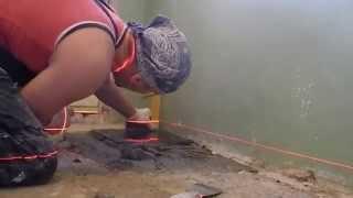 видео Керамическая плитка на пол