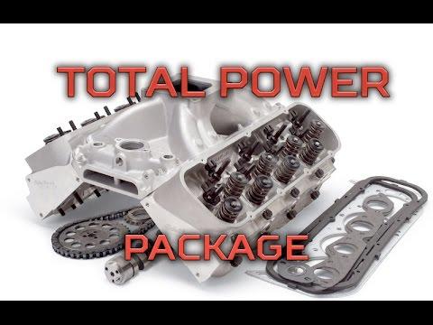 Edelbrock com: Power Package Top End Kits