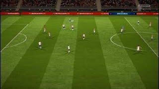 FIFA 18 mecz:Chorwacja-Anglia (półfinał)