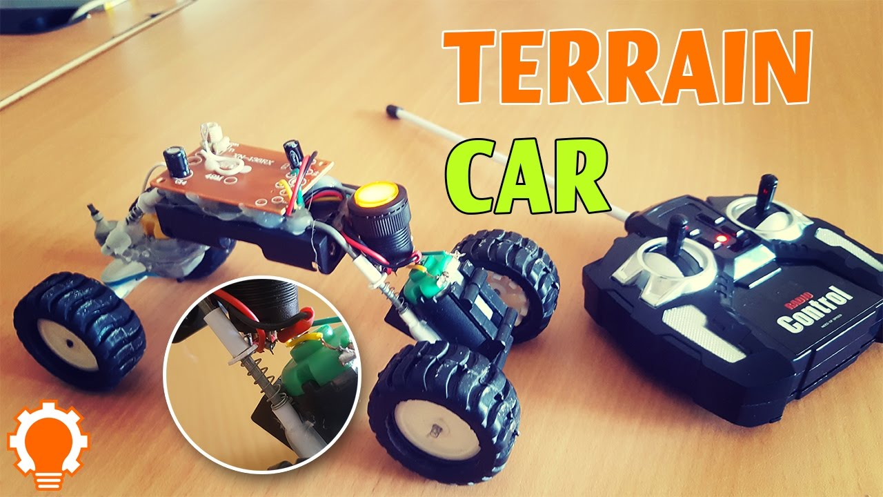 how to make a remote control terrain cars diy youtube. Black Bedroom Furniture Sets. Home Design Ideas