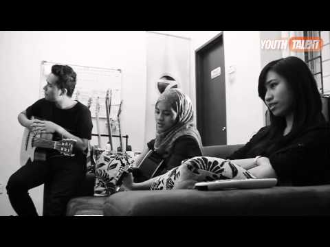 Anis Bakhtiar feat. Azlia Zarliana - Because You Loved Me | Acoustic Ver.
