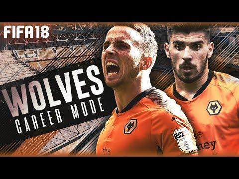 FIFA 18 Карьера за Вулверхэмптон Стрим #1 Волки в АПЛ