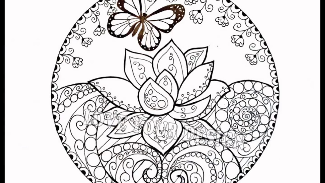 My Butterfly Garden Adult Coloring Book