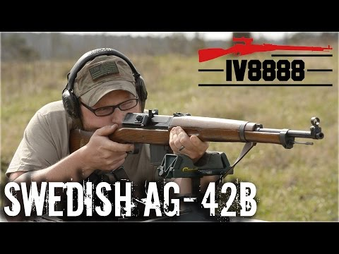 Swedish Ljungman AG42B 6.5x55mm
