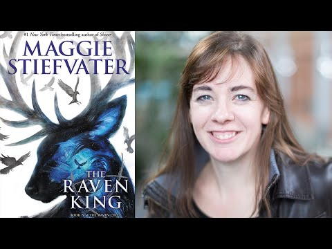"""Maggie Stiefvater on """"The Raven King (The Raven Cycle, Book 4)""""   Book Expo America 2016"""