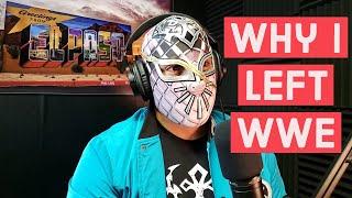 Why I left WWE- Cinta de Oro (Ex Sin Cara)