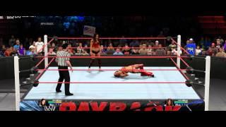 WWE 2K15 PC gameplay diva
