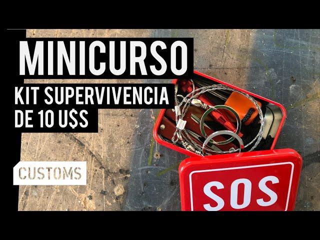 Kit de supervivencia de 10 U$S | MINICURSO | CUSTOMS