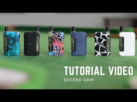 Joyetech EXCEED Grip Tutorial Video!with Giveaway!!!