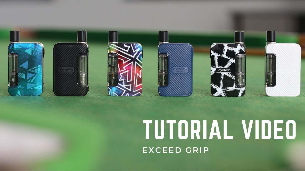 Joyetech Exceed Grip Tutorial Video With Giveaway Youtube