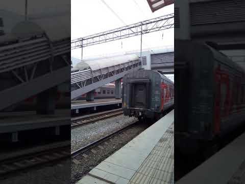 Сидячий поезд.