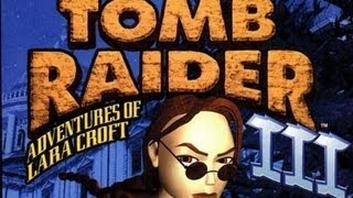 Classic PS1 Game Tomb Raider III Adventures of Lara Croft on PS3 in HD 720p