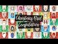 MEGA Christmas Nail Art Compilation