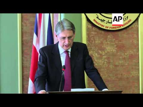 British FM urges Hamas to agree to immediate humanitarian; UAE aid for Gaza