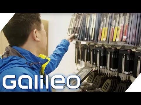 Shoppingparadiese: Chinesen in Deutschland und Deutsche in Asien | Galileo | ProSieben