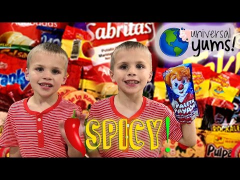 Kids Try Foods From Mexico