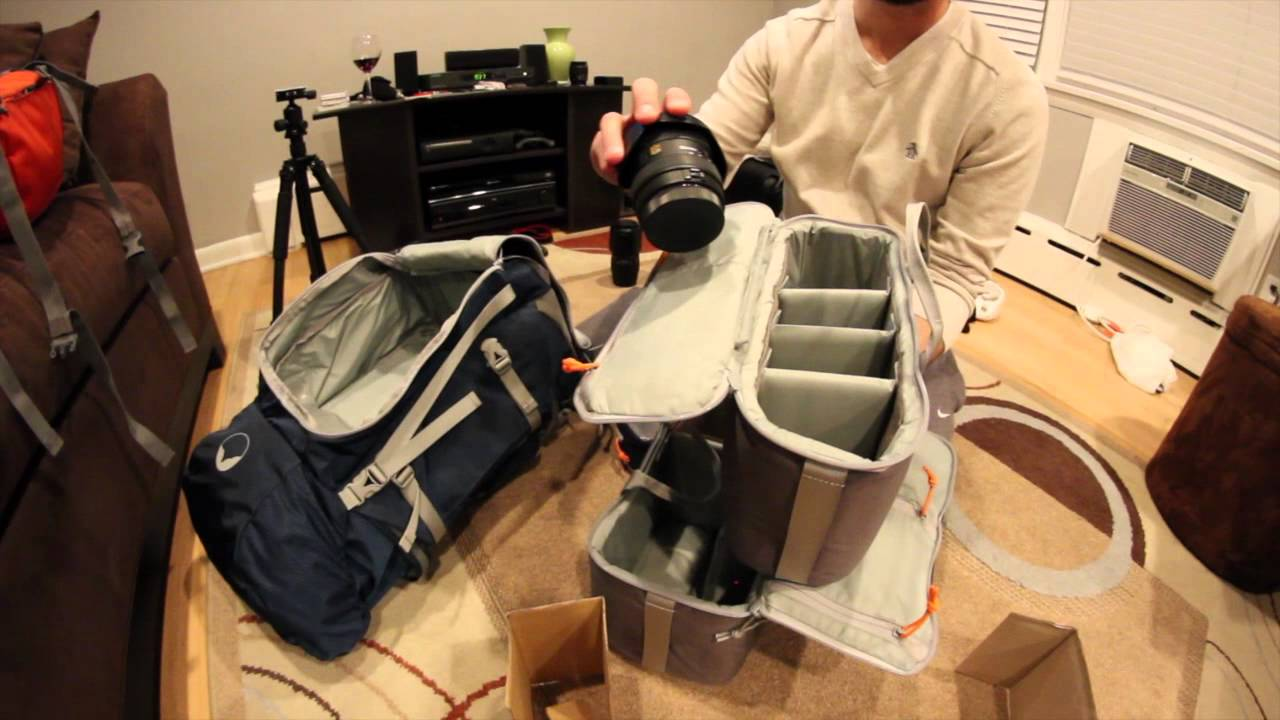 Lowepro Rover Pro 45L AW - Unboxing - YouTube c3f662022aa62