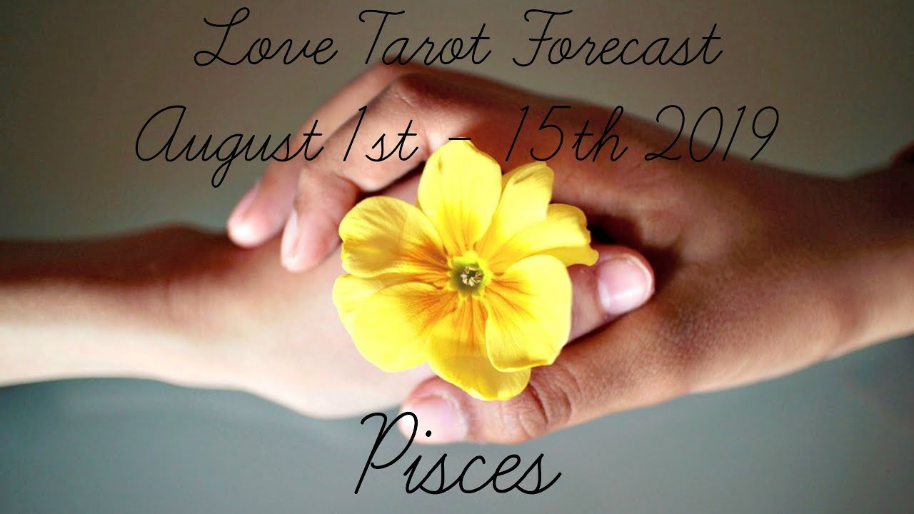 Pisces ~ I've changed & I love you! ~ Lovescope Aug 1st - 15th