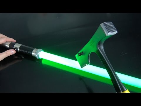 What's inside a $4 vs $400 Lightsaber?