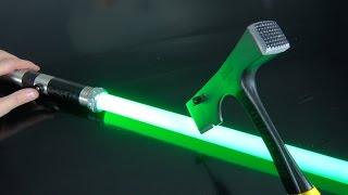 What's inside a $4 vs $400 Lightsaber? thumbnail