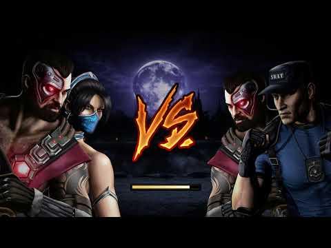 Mortal Kombat IX - Tag Ladder - Kano & Kitana