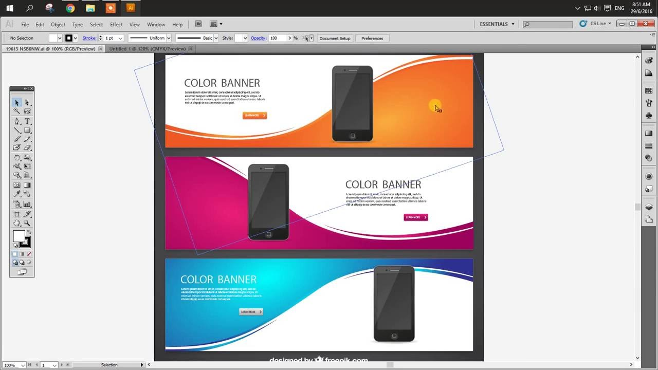 how to edit vector from freepik website in illustrator