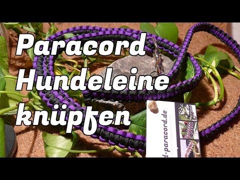 Paracord Hundeleine knüpfen – Die Anleitung zum Hundeleinen-Kit auf www.armband-paracord.de