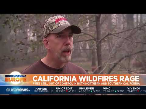 Deadly California wildfires rage across the state | #GME