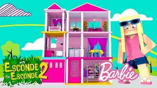Minecraft: CASA DA BARBIE! (Esconde-Esconde 2)