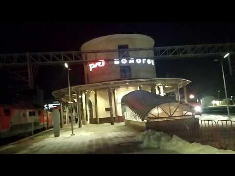 Бологое. Поезд №337/338 Санкт-Петербург - Самара, стоянка на станции Бологое - Московское.