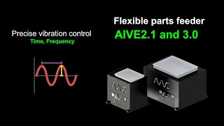 AIVE #Flexible_Feeder #Robots AIVE is a progressive flexible feeder which is optimal for robot and vision system. Through our precise sine wave vibration, our ...