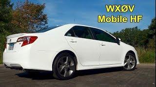 WX0V Mobile HF Ham Radio - 2018