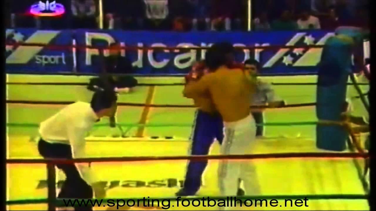 KickBoxing :: Fernando Fernandes - Campeão Europeu de Kick-Boxing em 1993
