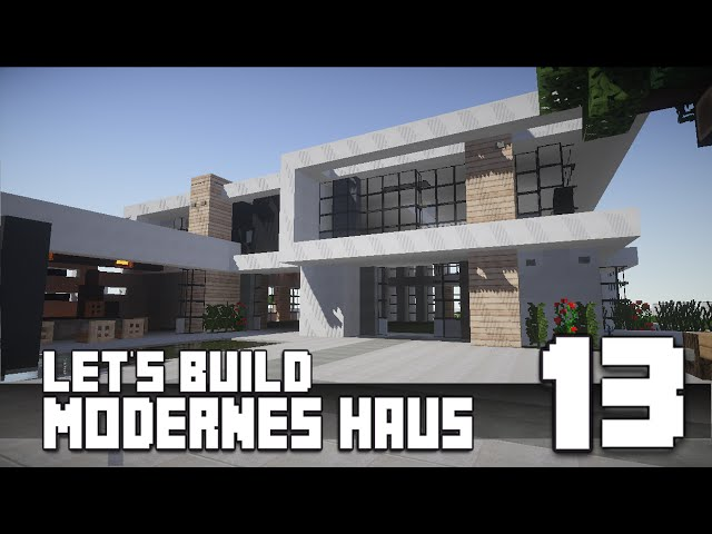 V2movie Minecraft Modernes Haus Bauen 13 Teil 1 3