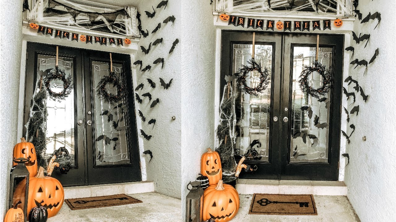halloween porch decor ideas 2018 / diy halloween decor / easy +