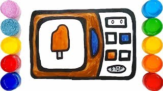 HOW TO DRAW A TELEVISION EASY STEP BY STEP || TOO COLOUR ||