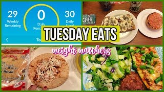 Tuesday Eats | What I Ate on 30 Weight Watcher Smart points | 08.01.17