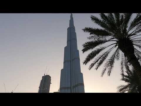 Dubai Fountain Show   4K Video