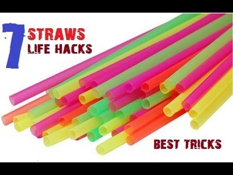 Thumbnail: TOP 7 Creative life hacks with Drinking Straws