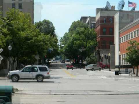 Burlington, Iowa 2009/ My Hometown on the Mississippi